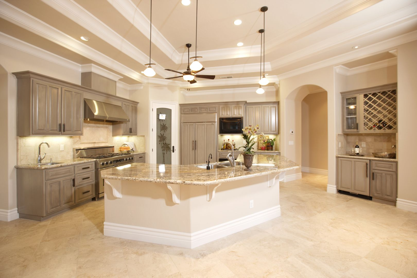 choose the marble of any colour that makes your kitchen look great click here to view on kitchen decor grey cabinets id=83012