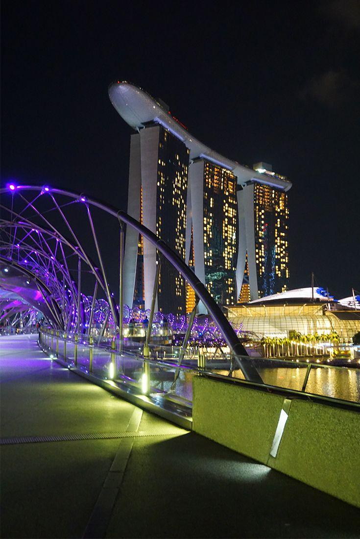 Singapur Bei Nacht 6 Gigantische Highlights Bei Dunkelheit Singapur Asien Reisen Thailand Reisen