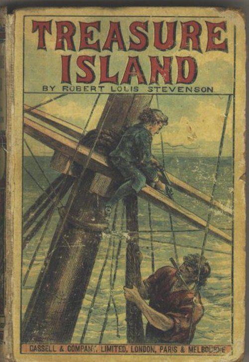 Treasure Island by Robert Louis Stevenson | book cover | Pinterest ...