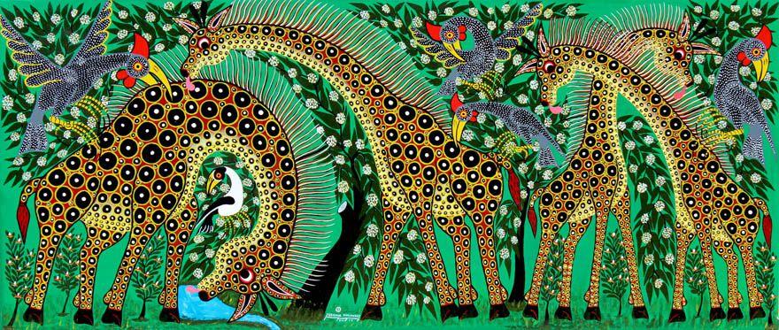 Tinga Tinga Art - Jeremiah Emanuel (painter)
