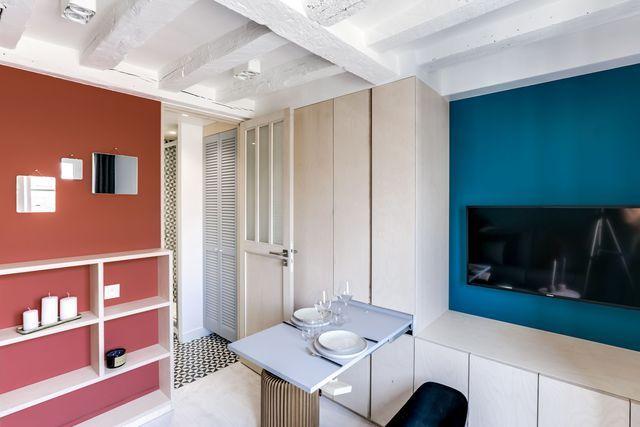Studio Paris Location 17 M2 Renoves Dans Le Marais Appartement Confortable Petit Appartement Appartement