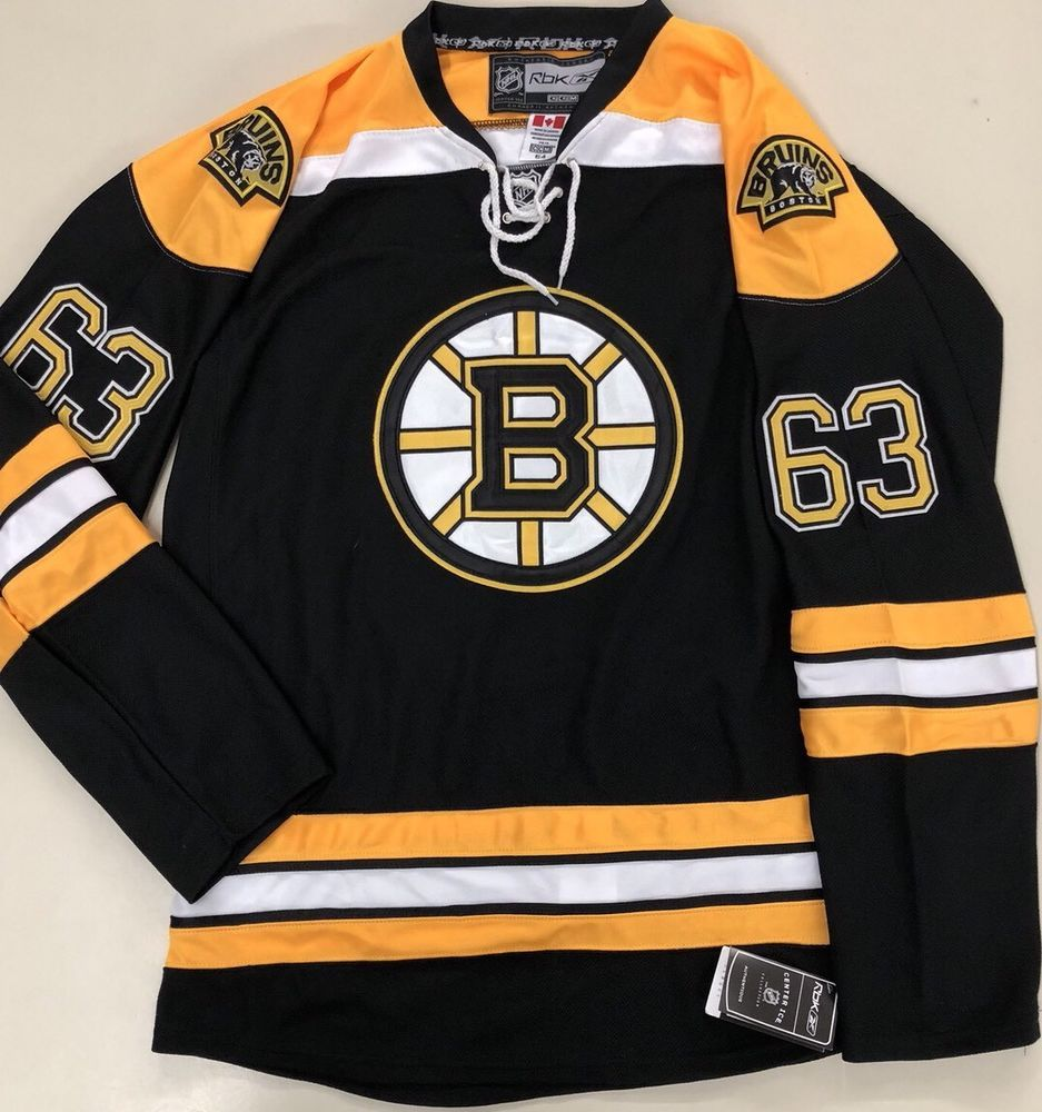 Boston Bruins Brad Marchand Authentic Reebok Edge Hockey Jersey Nhl Size 54 Hockey Jersey Boston Bruins Brad Marchand