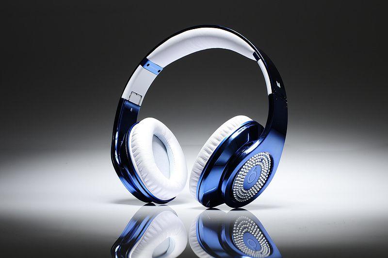 Casque Beats By Dr.Dre Studio Electroplating Bleu Profond ...