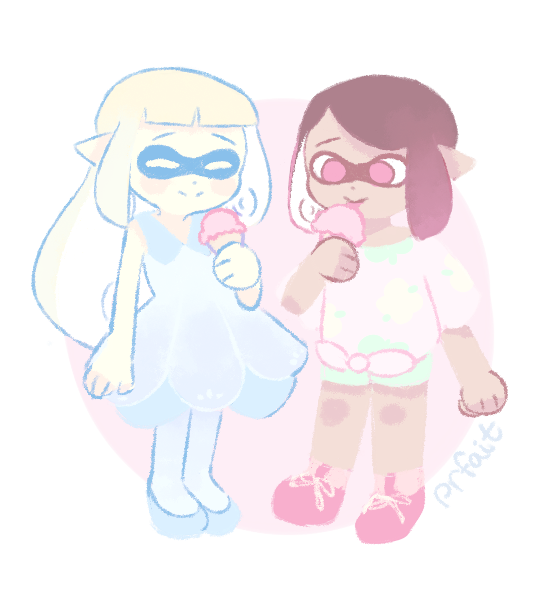 you're a squid now you're a pokemon trainer now
