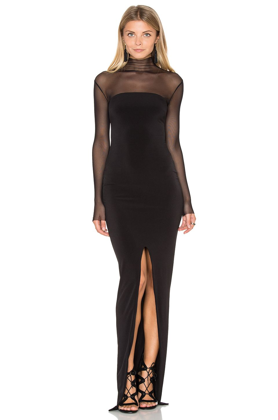 Nookie the eclipse maxi dress in black revolve the best