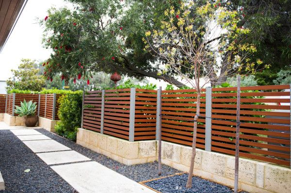 Smartwood Faux Timber Slat Fencing From Fencemakers In