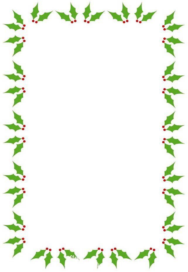 Free Christmas Borders and Frames ssss Christmas border