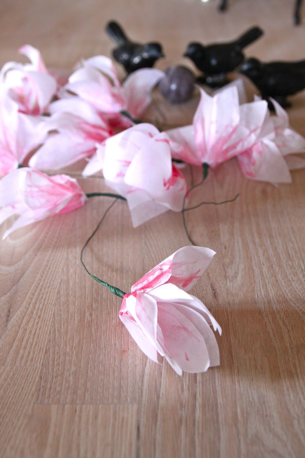 Rebecca Diy Diy Magnolia Flowers In The Paper Diy Tissue Paper