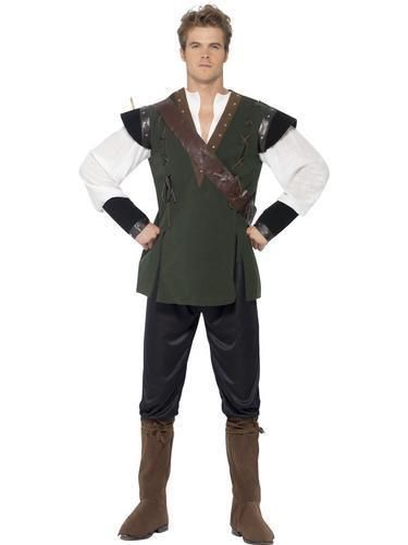 Robin Hood Mens Fancy Dress Fairy Tale Book Day Medieval Thief Adults Costume  sc 1 st  Pinterest & Robin Hood Mens Fancy Dress Fairy Tale Book Day Medieval Thief ...