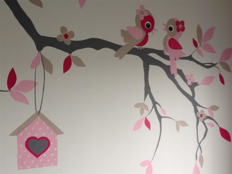 muurschildering kinderkamer van elisabelkunst | murial painting, Deco ideeën