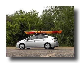 Prius Hauling Kayak