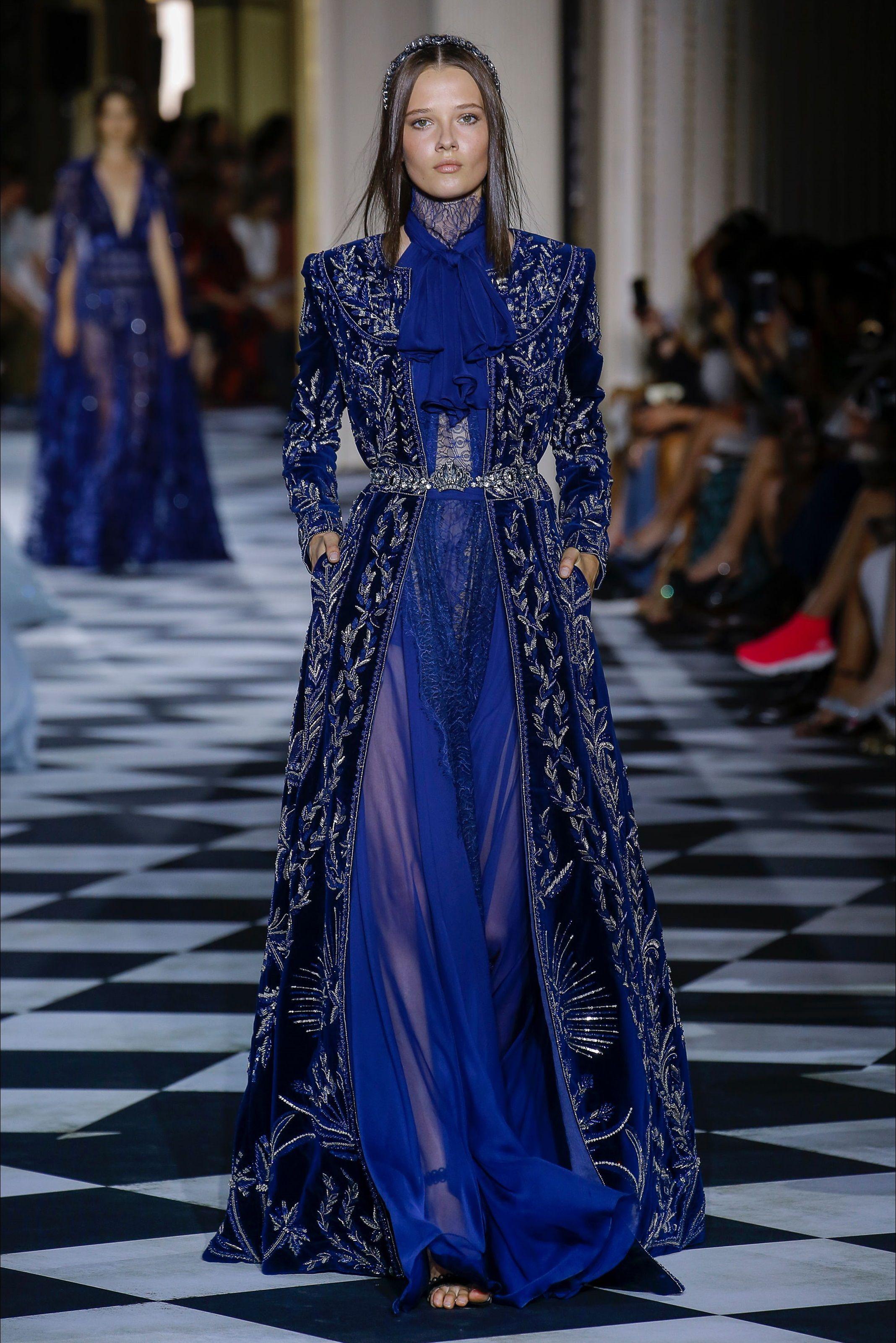 f12fec6bae75 Sfilata Zuhair Murad Parigi - Alta Moda Autunno-Inverno 2018-19 - Vogue