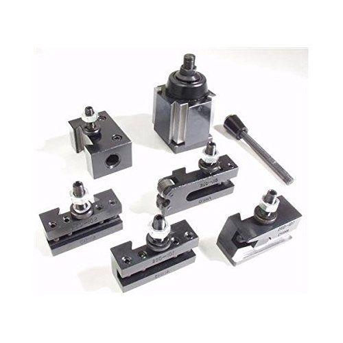 "AXA Quick Change Wedge Type Tool Post Set 6-12"" All Industrial http://www.amazon.com/dp/B0002CSBS4/ref=cm_sw_r_pi_dp_v1M5vb1SCT1FN"