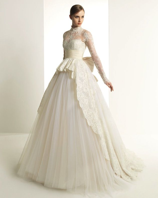 Wedding dress grace kelly style clothes