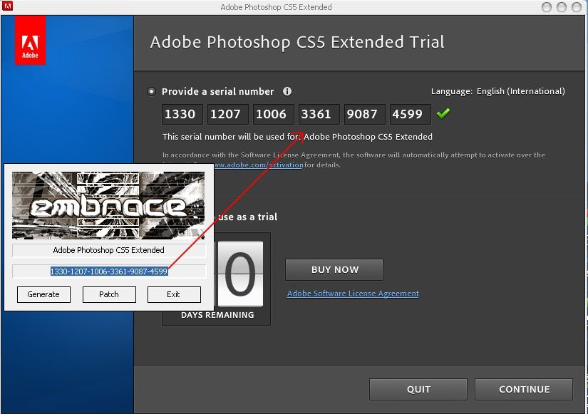 Photoshop CS5 amtlib.dll Patch and CRACK - Serial Activation