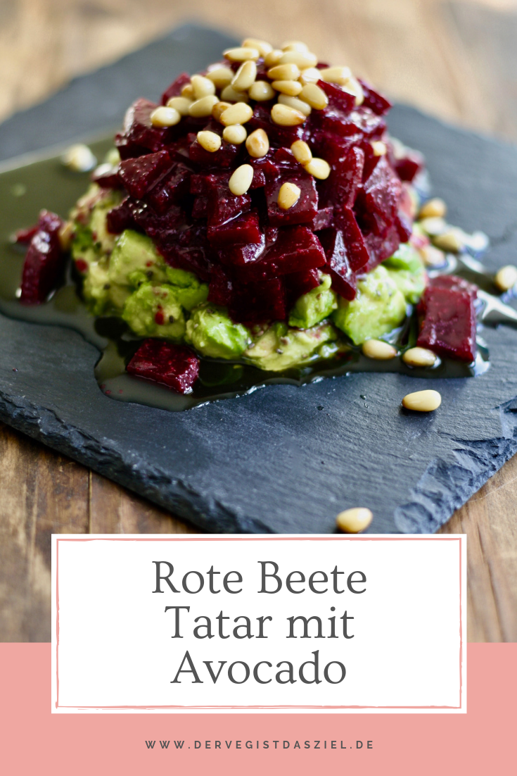 Photo of Beetroot tartare with avocado – the veg is the goal.