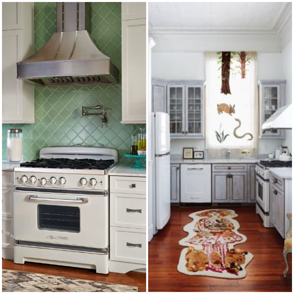 Sparkling White Kitchens with Big Chill Appliances | Big chill ...