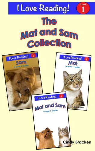 Free Kindle Book For A Limited Time The Mat And Sam Collection A Set Of 3 I Love Reading Level 1 Reader Free Kindle Books I Love Reading Beginning Reading