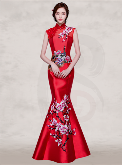 1c10b04af8d red chinese dresses 2016 17 » My Jewelry Shop