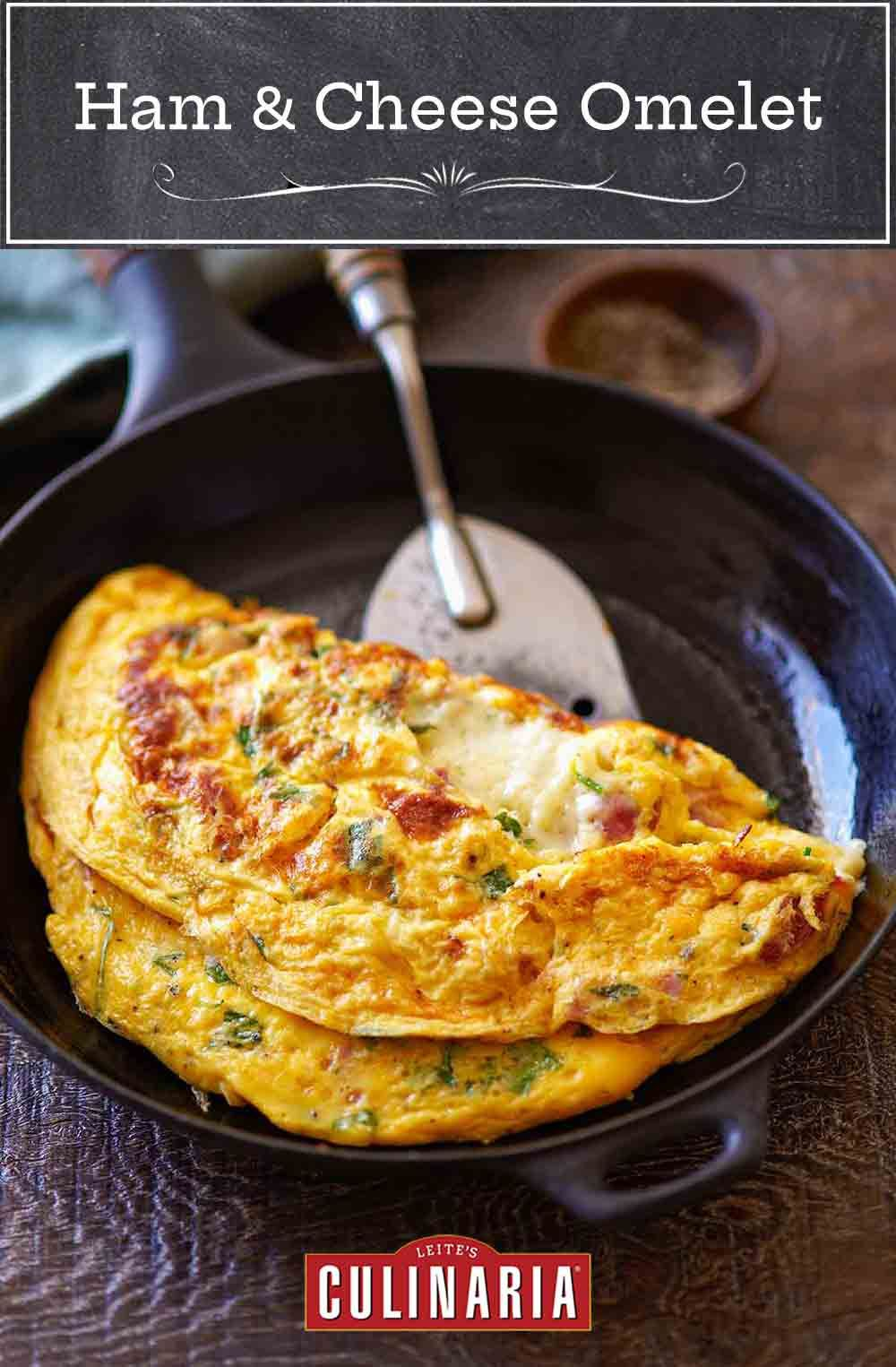 Ham and cheese omelet recipe in 2020 omlet recipes