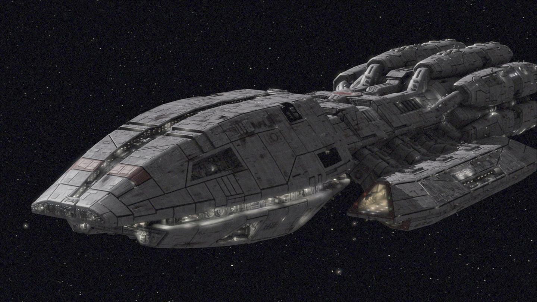 Battlestar Galactica Ships | The Battlestar Pegasus
