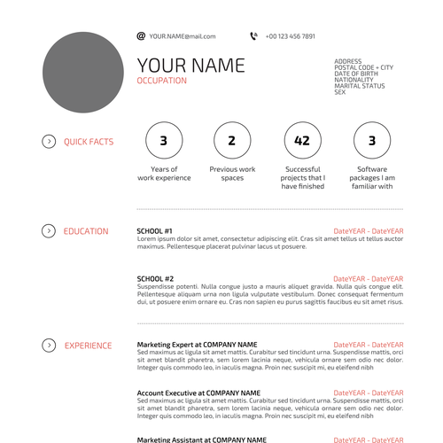 Help Applicants Get That Job With Your Magnificent Resume Design 2alljobs Is A Web Application Through Which Resume Design Business Design Business Advertising