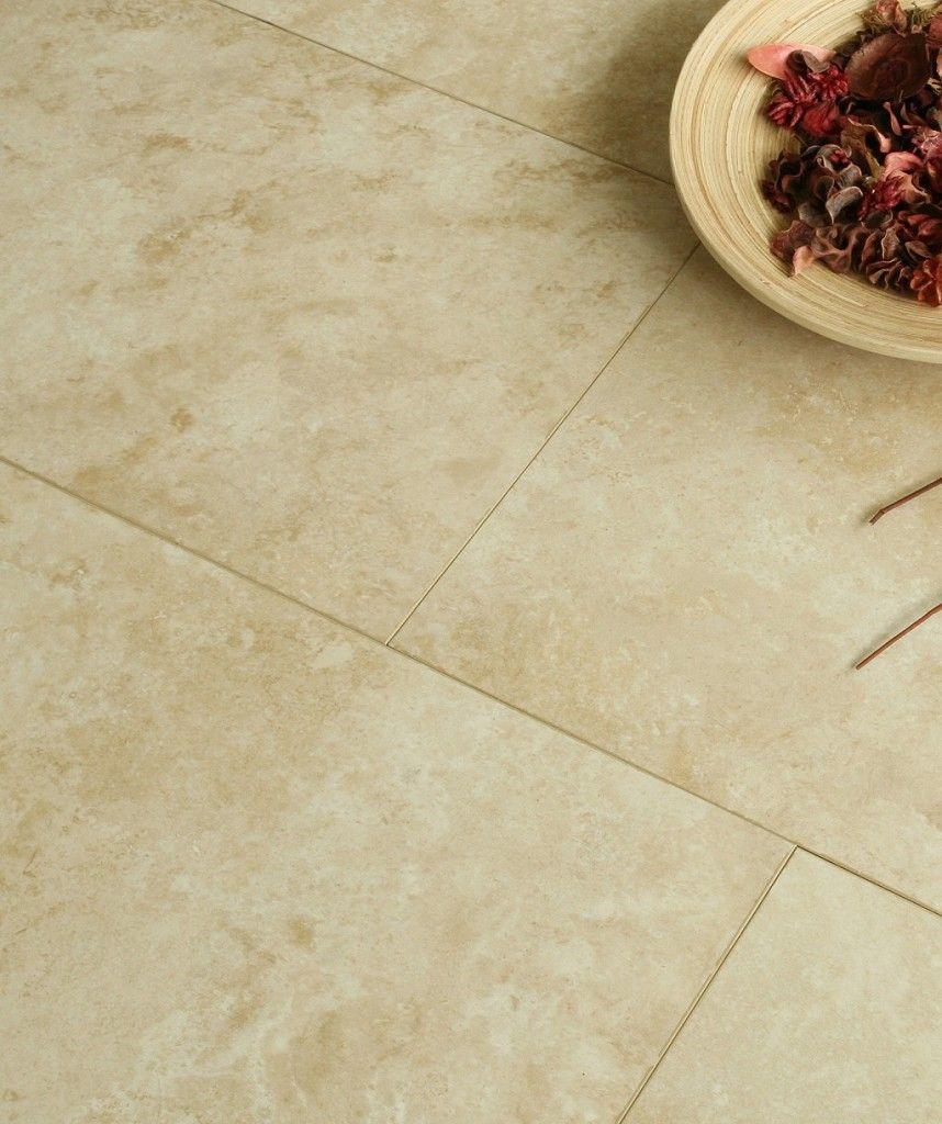 Easy-Fit Cream Marble Tile Effect | Topps Tiles | Vera Road ...