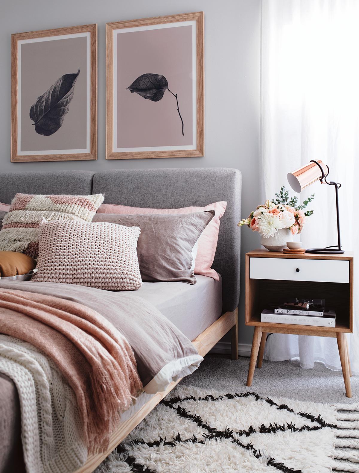 Cosy Autumn Winter Styling Bedroom Interior Bedroom