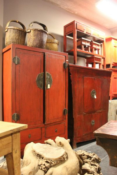 Colonial Warehouse Meubelen Chinese Kasten Oud En Nieuw
