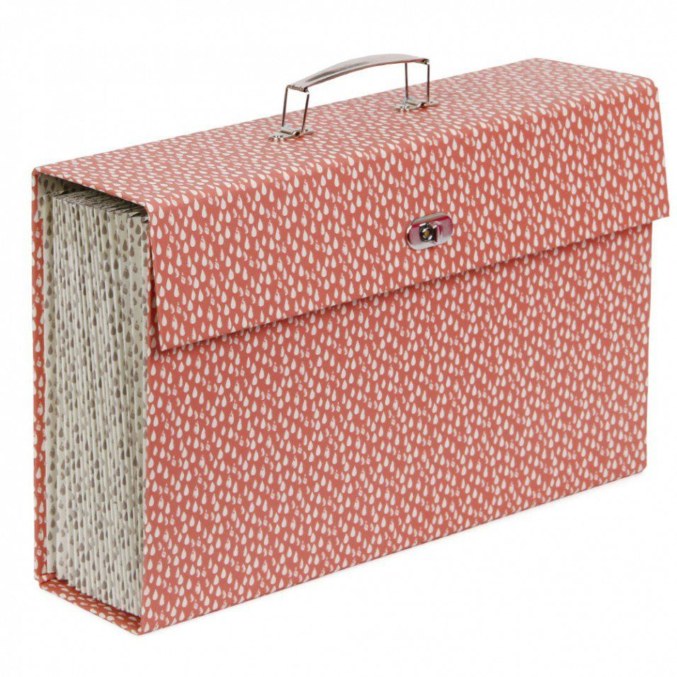 Raindrops expanding case file - Filing Accessories - Filing & Storage - Stationery