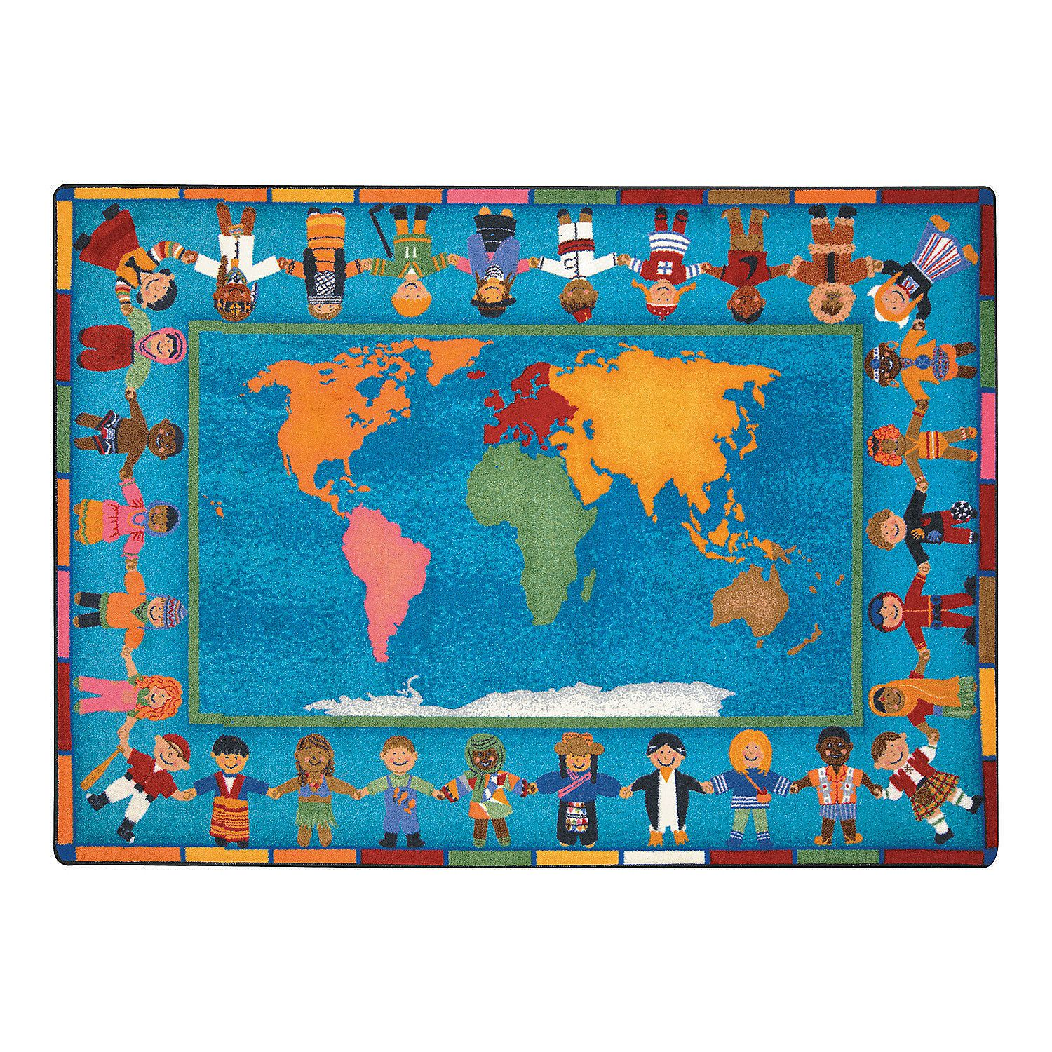 Hands Around The World Classroom Rug Classroom Rug Kids Area Rugs Classroom Carpets
