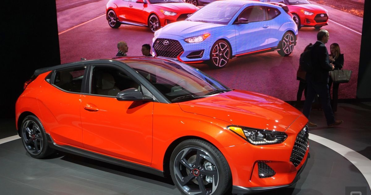 Hyundai's new Veloster will make its debut in 'Forza