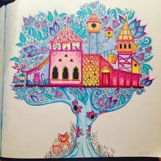 TREEHOUSE Johanna Basford