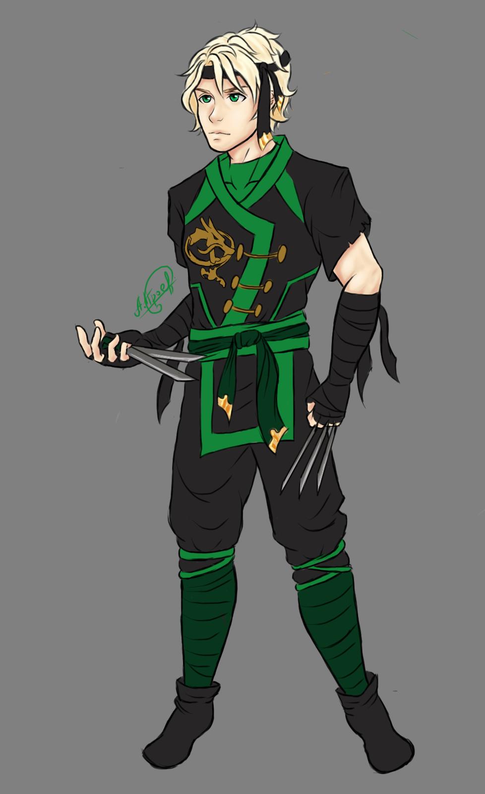 Lloyd in the 6th season by on deviantart ninjago pinterest - Ninjago dessin anime ...