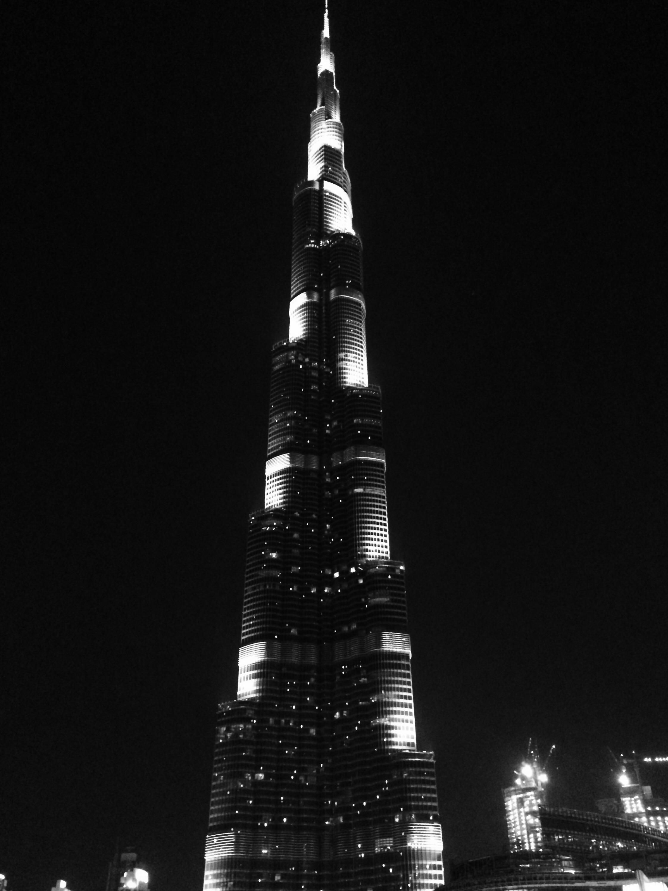 Black Burj Khalifa Wallpaper