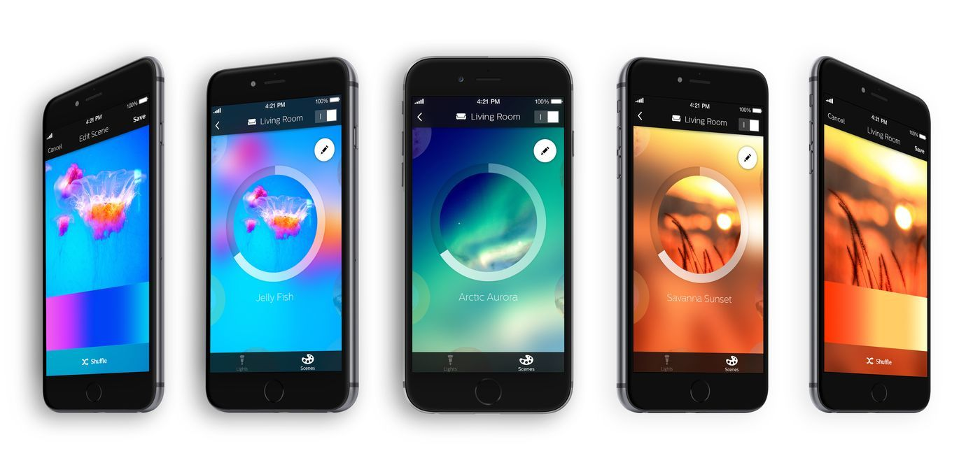 Hue Philips App Philips Hue App Gets Way Better With An Overhauled Design And New