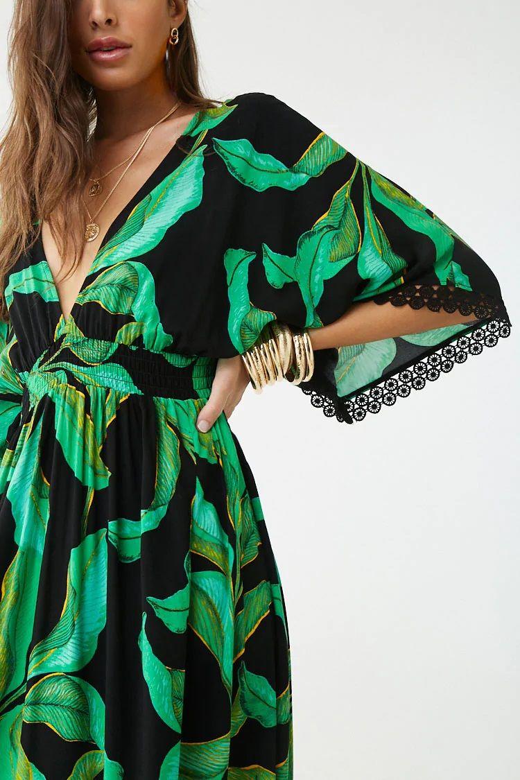 Long Floral Dress Tropical Print Maxi Dress Printed Maxi Dress Dresses Formal Elegant [ 1125 x 750 Pixel ]