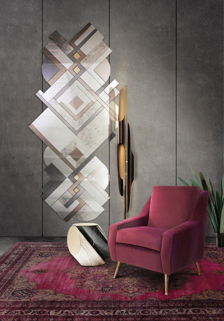 50 Schönsten Spiegel für zeitlos Haus-dekor   Luxus, Spiegel und ...