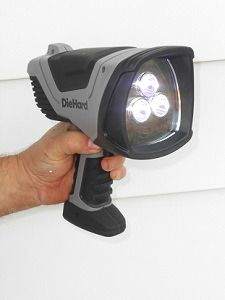 DieHard 500 Lumens LED Rechargeable Spotlight from Dorcy