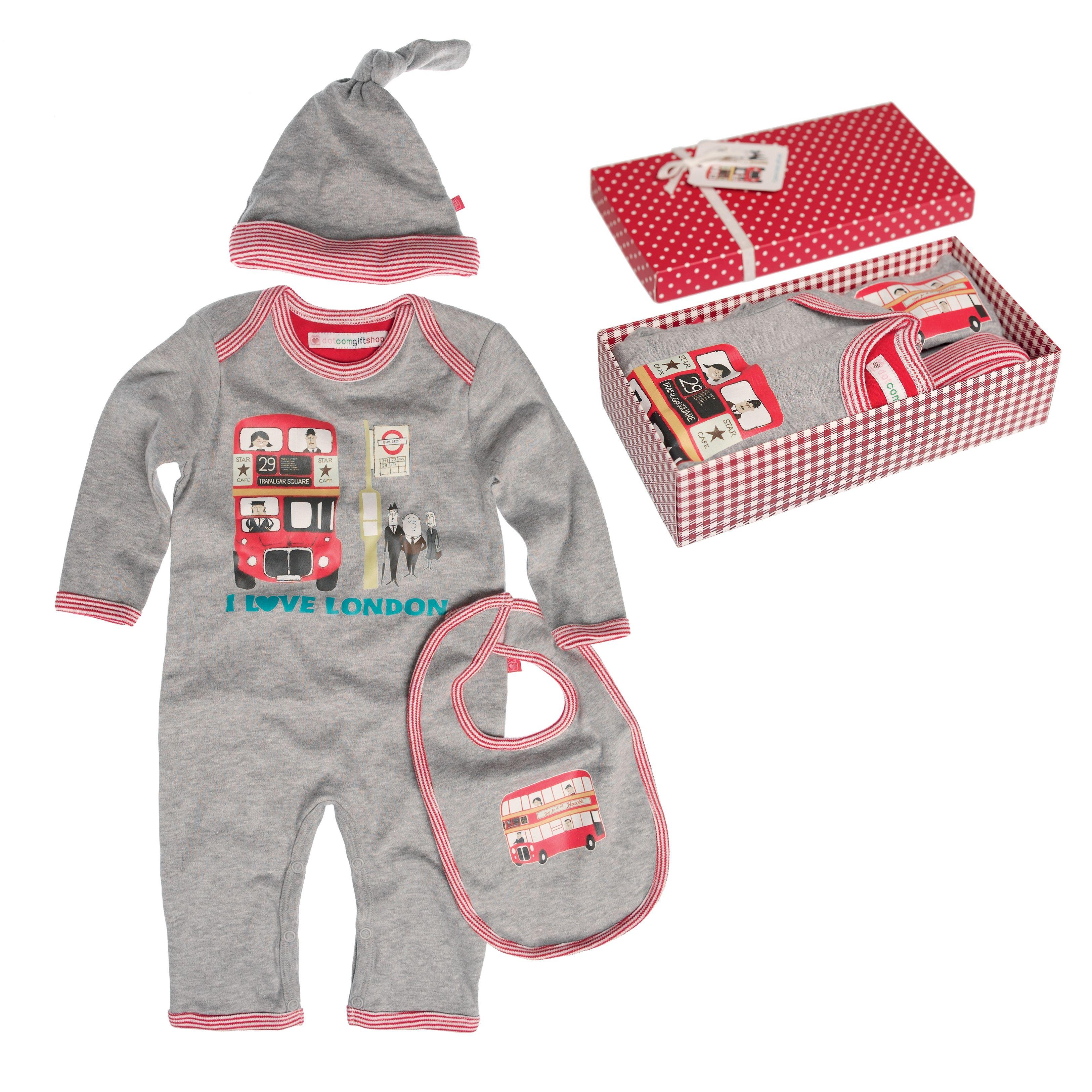 I Love London Boxed Baby Gift Set