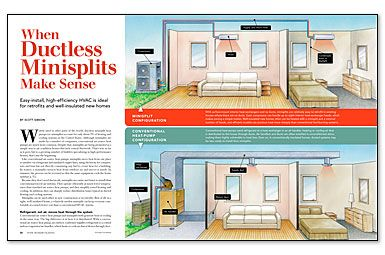 When Ductless Minisplits Make Sense Ductless Heating Systems