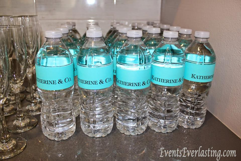Print your own custom water bottle labels at home using