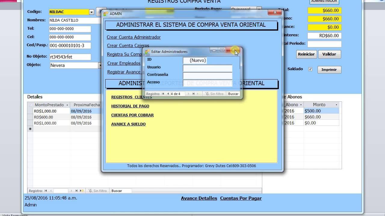 Software Para Compra Venta Marketing Shopping Music