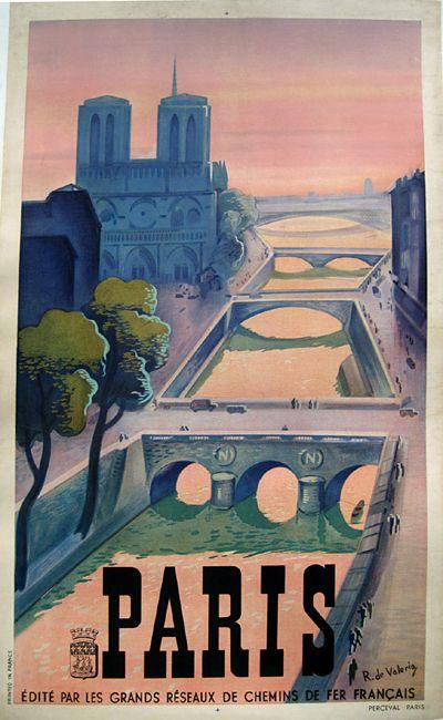 Paris Auto Show 1952 Retro Travel Poster Vintage Posters Vintage Poster Art