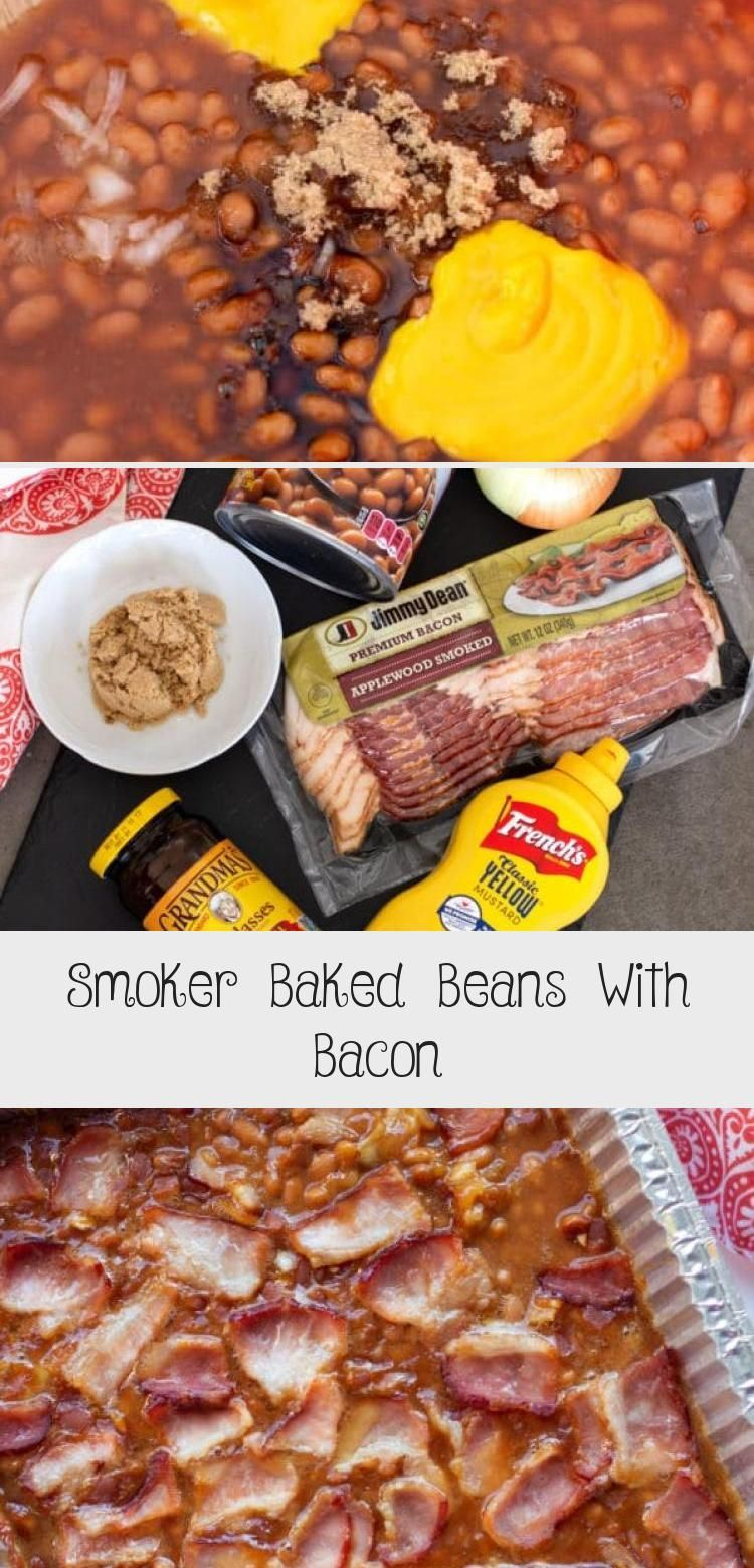 Baked Beans on the smoker is an easy side dish for all your spring and summer ba Baked Beans on the smoker is an easy side dish for all your spring and summer barbecues T...