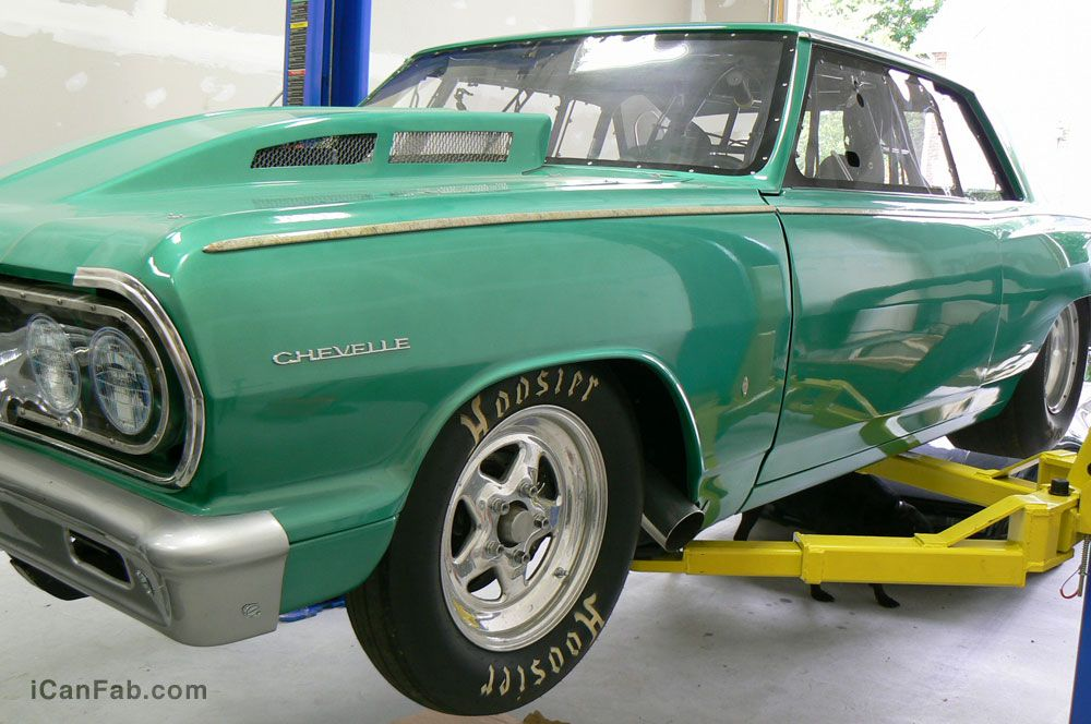 Rolling Tire Dyno: 592HP, 491 ft.lbs torque, 175HP NOS shot. http://icanfab.com/cars-sale/chevelle-for-sale/ #racing