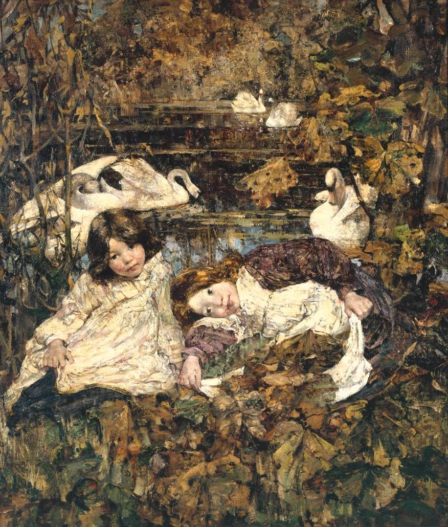 Autumn 1904 - Edward Atkinson Hornel Scottish 1864 1933 Art Glasgow Boys