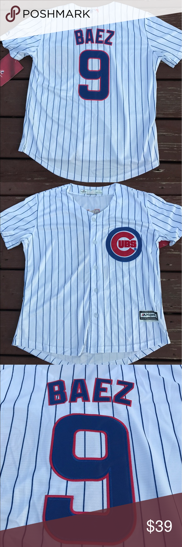 info for d8456 1d950 Women's Chicago Cubs Javier Baez jersey (Large) Women's ...