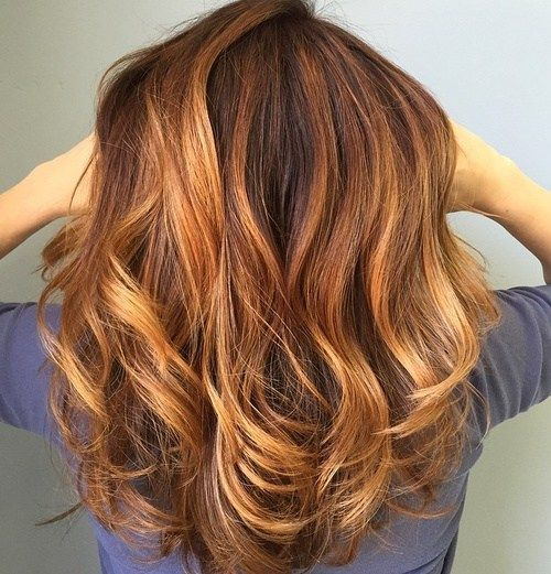 how to make hair look thicker with color