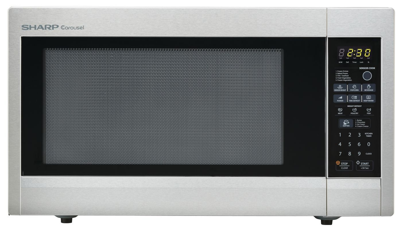 Sharp R651z 24 Inch Wide 2 2 Cu Ft Countertop Microwave With